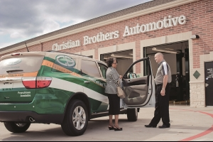 Christian Brothers Automotive offers a convenient courtesy shuttle to and from work Monday through Friday.